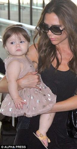 Victoria and Harper Seven Beckham