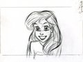 Walt Disney Sketches - Princess Ariel - walt-disney-characters photo