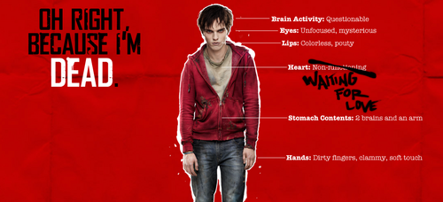 Warm Bodies Movie Обои titled Warm Bodies R