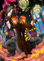 Weasley Magic Party - harry-potter-canon-rp fan art