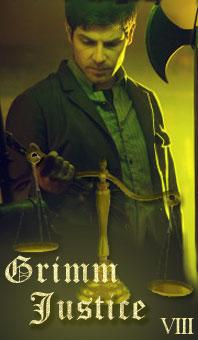 Wesen Tarot 08 Grimm Justice