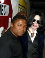 With Randy - michael-jackson photo