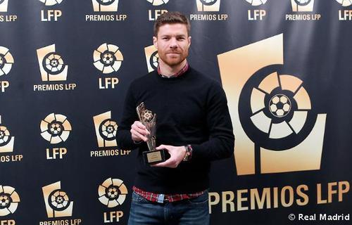 Xabi Alonso LFP Premios