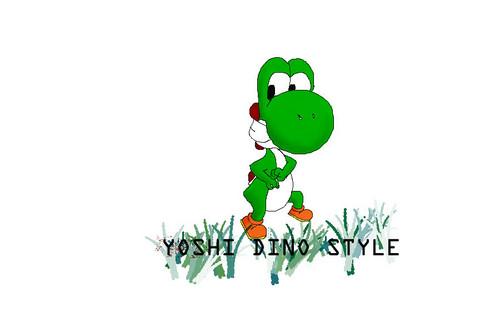 Yoshi Dino Style