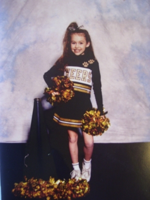 miley cyrus wallpaper titled Young Miley *Cheerleader*