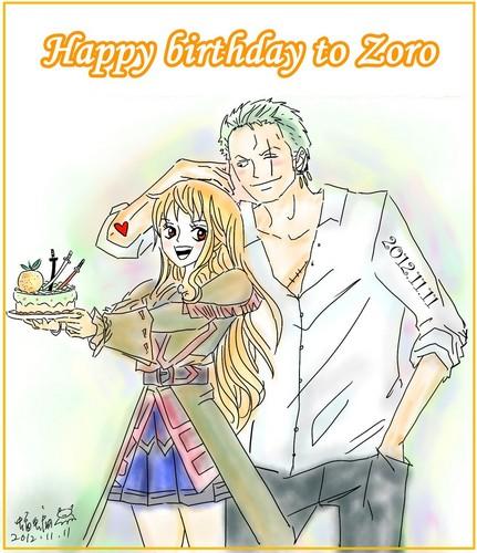 Zoro Nami Любовь