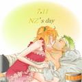 Zoro and Nami