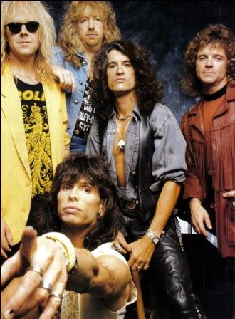 Aerosmith Hintergrund probably containing a business suit, a hip boot, and a well dressed person entitled aerosmith