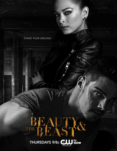 Beauty and the Beast (CW) wallpaper with a street called batb poster • stand your ground