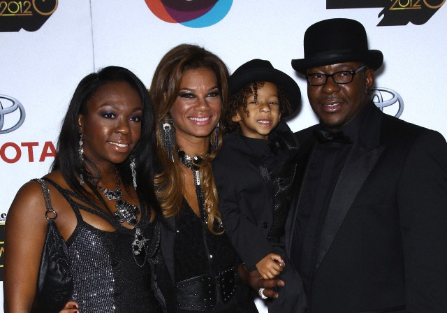 Photo of Bobby Brown & his  Daughter  LaPrincia Brown