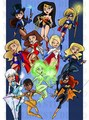 dc girls x - dc-comics photo