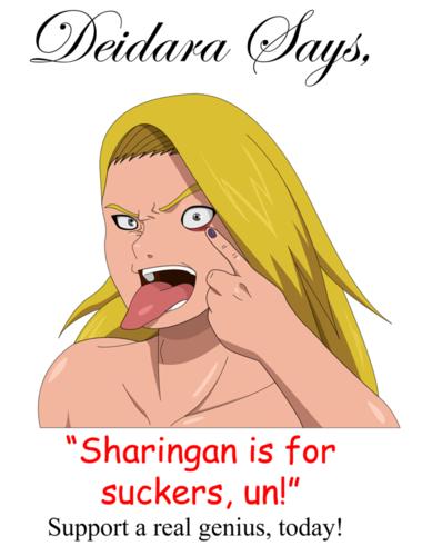 deidara says