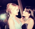 dianna and lea - dianna-agron photo