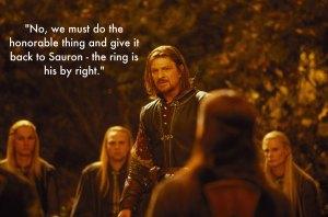 If Sean 豆 had played Lord Eddard in LotR