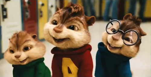 frist time they saw the chipettes