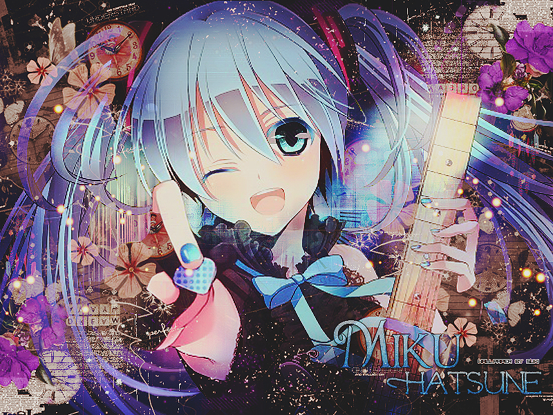Msyugioh123 Images Guitar Anime Girl Hd Wallpaper And Background
