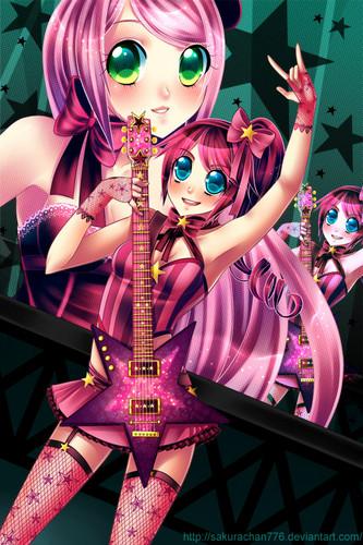 гитара Аниме girl