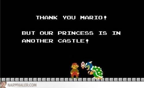 Thank আপনি Mario