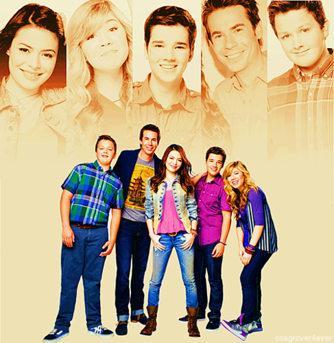 iCarly वॉलपेपर probably containing long trousers, a well dressed person, and a पैंट लेग, pantleg titled iCarly