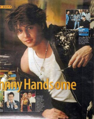 Johnny Depp wallpaper titled johnny handsome (16 years old)