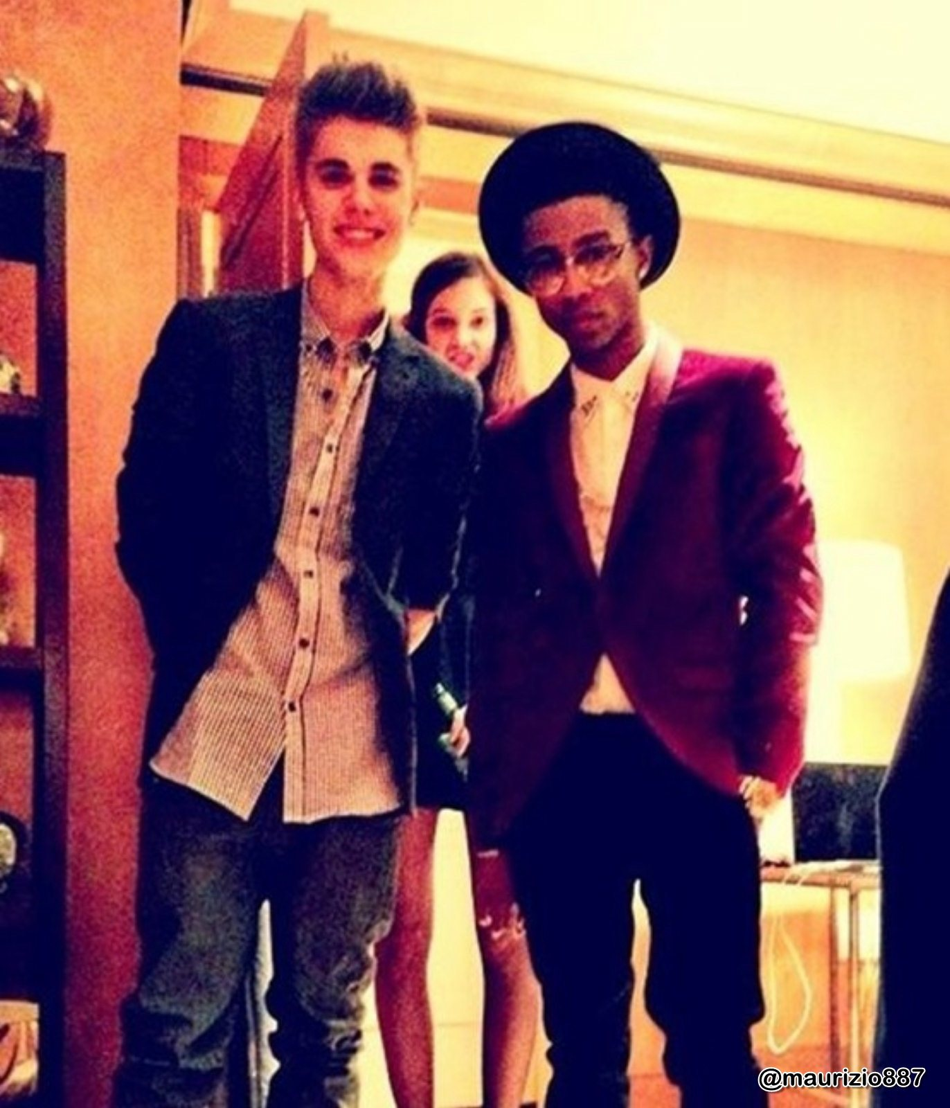 Lil twist and justin bieber 2012