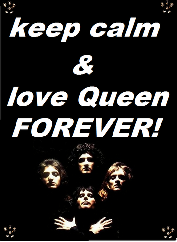 keep calm & love queen