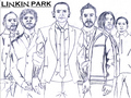 linkin park  sketch - linkin-park fan art