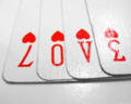 love Is in the cards - crush photo