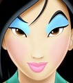 mulan wearing makeup