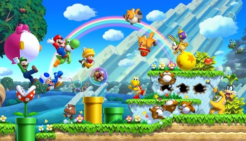 Super Mario Bros. wallpaper called new super mario bros u
