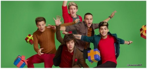 one direction,New giáng sinh photoshoot , 2012