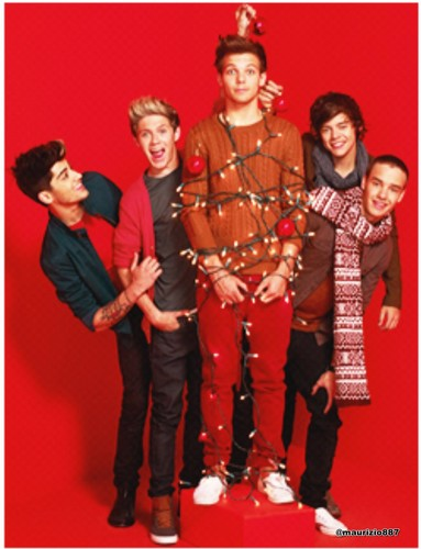 one direction,New Christmas photoshoot , 2012