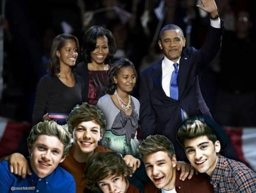 one direction,Special US President Barack Obama.