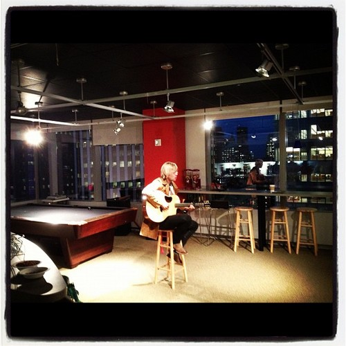 performing for the folks at vevo in NYC