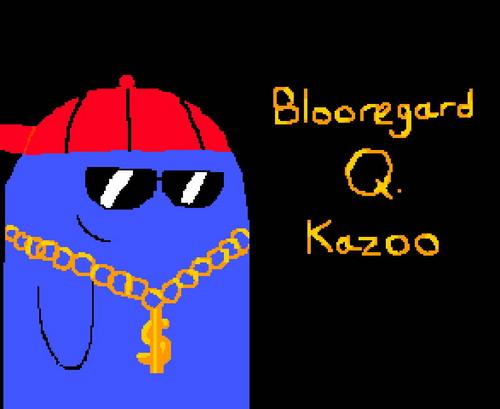 যেভাবে খুশী pic of Bloo I drew (hey it rhymes!)