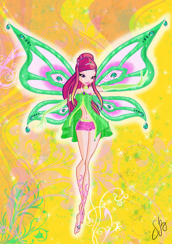 The Winx Gang wallpaper called roxy<3