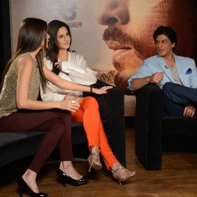 srk,kat & anushka - katrina-kaif Photo