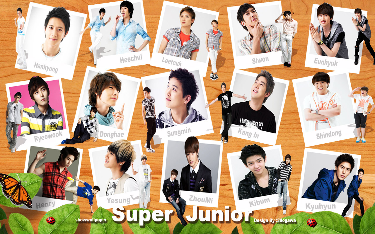 super junior  Super Junior Wallpaper 32787237  Fanpop