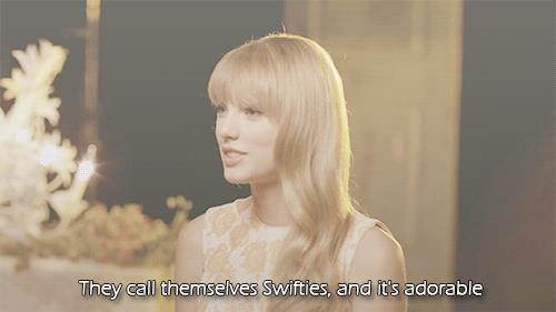 taylor loving our fandom