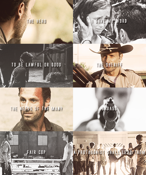 The Walking Dead the walking dead character tropes » Rick Grimes