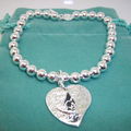 tiffany heart tag toggle necklace