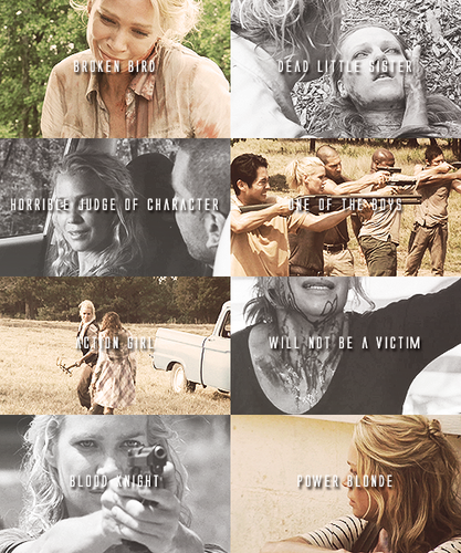 The Walking Dead Character Tropes » Andrea