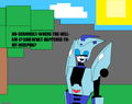 where the hell is he anyway? - transformers-animated-series fan art