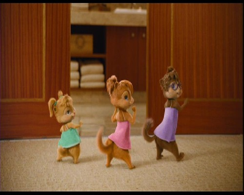 The Chipettes wallpaper titled whip my tail