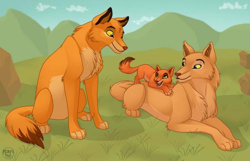 늑대 family