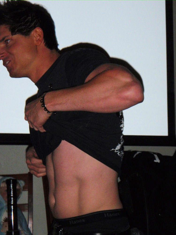 Zak Bagans zakZak Bagans Shirtless