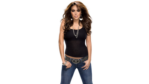 WWE wallpaper with bellbottom trousers and a legging titled  50 most beautiful people in Sports Entertainment: #20 Layla