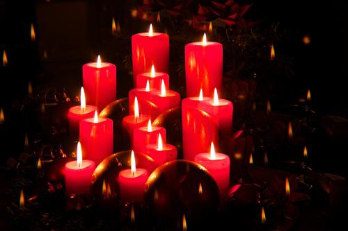 ★ Christmas candles ☆