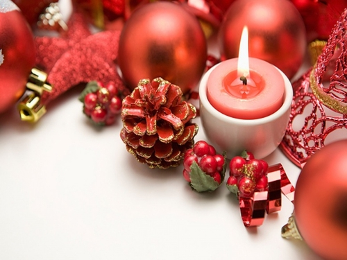 ★ giáng sinh candles ☆