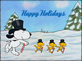 ★ Christmas with Snoopy ☆  - christmas wallpaper